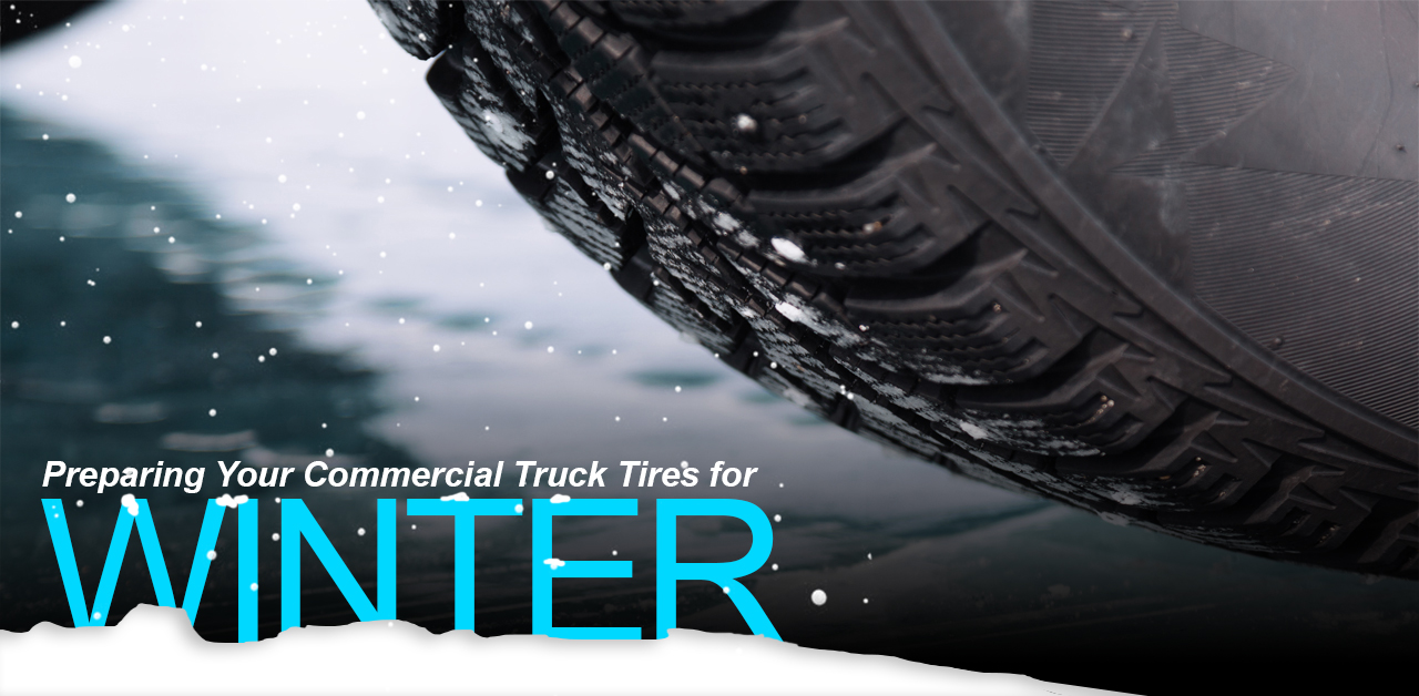 Preparing Your Commercial Truck Tires for Winter